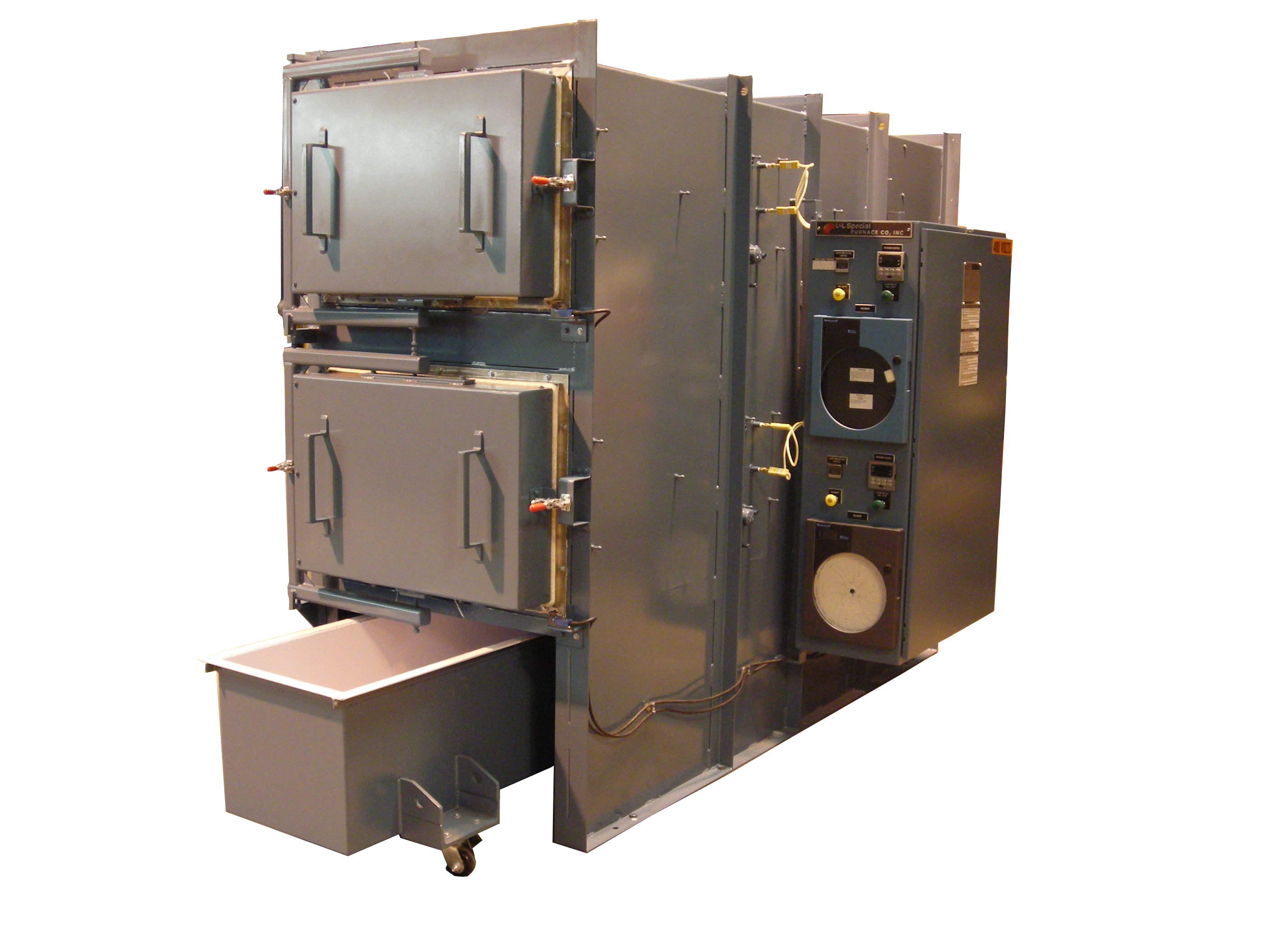 heat treating furnace for aluminum alloys